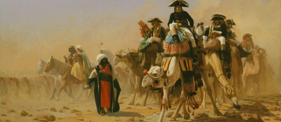 طفل مصري يتحدى الحملة الفرنسية